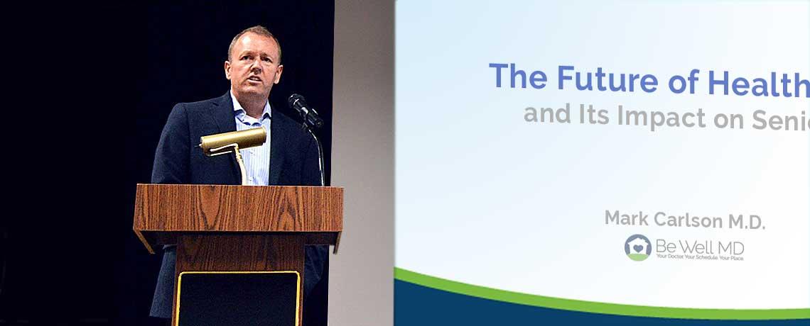Presentations by Dr. Carlson